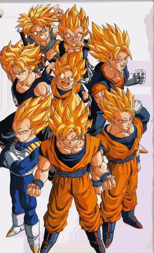 Future Goten And Trunks goku vegeta future trunks
